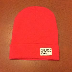 """Primark """"The Best Is Yet To Come"""" Beanie"""